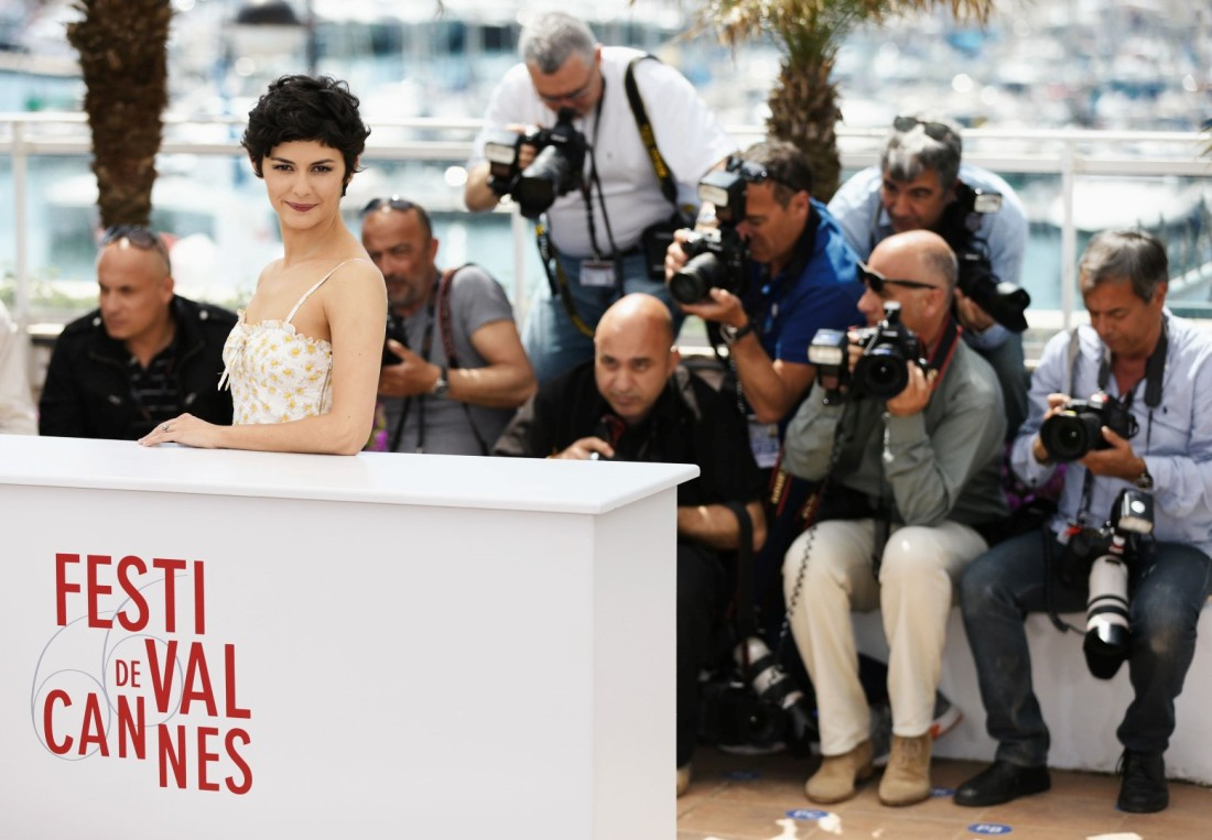 Audrey Tautou Cannes Photo Call - The 66th Annual Cannes Film Festival